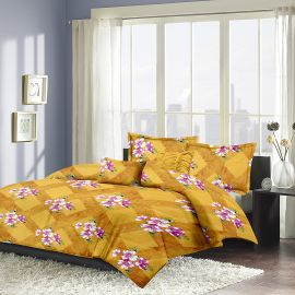 MEL - 16A-yellow-Small with 2 pillow covers