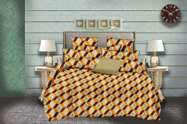MEL- 18-Small with 2 pillow covers-yellow