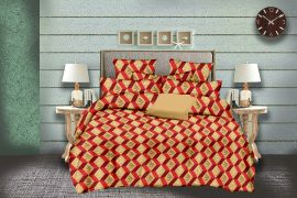 MEL- 18-Small with 2 pillow covers-orange