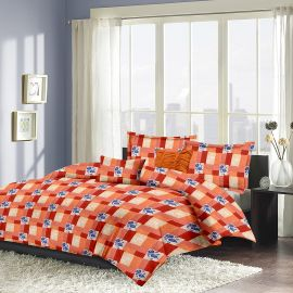 MEL- 21-orange-Small with 2 pillow covers