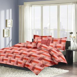 MEL- 22-orange-Small with 2 pillow covers