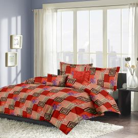 MEL - 23-orange-Small with 2 pillow covers