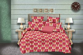 MEL - 30-Pink-Small with 2 pillow covers