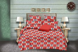 MEL - 30-orange-Small with 2 pillow covers