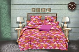 MEL - 32-Pink-Small with 2 pillow covers