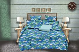 MEL - 32-Blue-Small with 2 pillow covers
