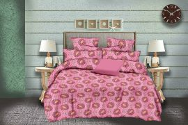 MEL - 33-Pink-Small with 2 pillow covers