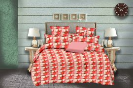 MEL - 34-orange-Small with 2 pillow covers