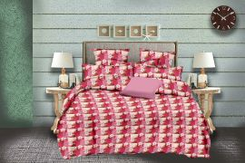 MEL - 34-Pink-Small with 2 pillow covers