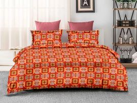 ZO - 07C-orange-Small with 2 pillow covers