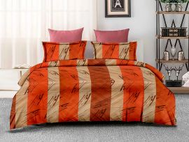 ZO - 08A-orange-Small with 2 pillow covers