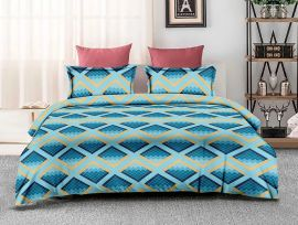 ZO - 11C-Blue-Small with 2 pillow covers