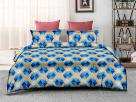 ZO - 13A-Blue-Small with 2 pillow covers