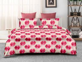 ZO - 13C-Pink-Small with 2 pillow covers