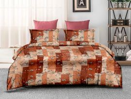 ZO - 15B-orange-Small with 2 pillow covers