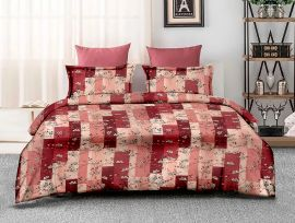 ZO - 15C-Pink-Small with 2 pillow covers