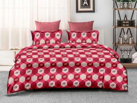 ZO - 16A-Pink-Small with 2 pillow covers