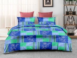 ZO - 17A-Blue-Small with 2 pillow covers