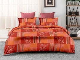 ZO - 17B-orange-Small with 2 pillow covers