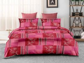 ZO - 17C-Pink-Small with 2 pillow covers