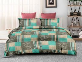 ZO - 17D-Green-Small with 2 pillow covers